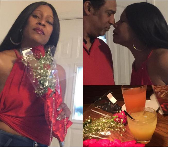 Regina Askia shares rare photo of her husband