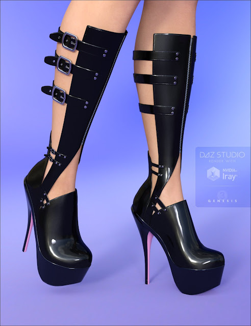 Wicked Buckled Boots