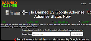 How To Check If Your Site Is Banned By Adsense
