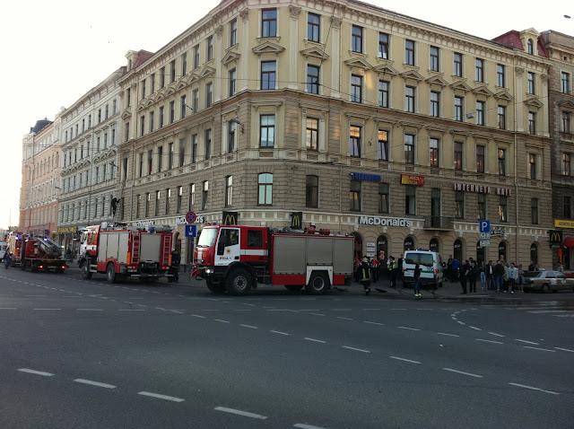 bomberos de Riga