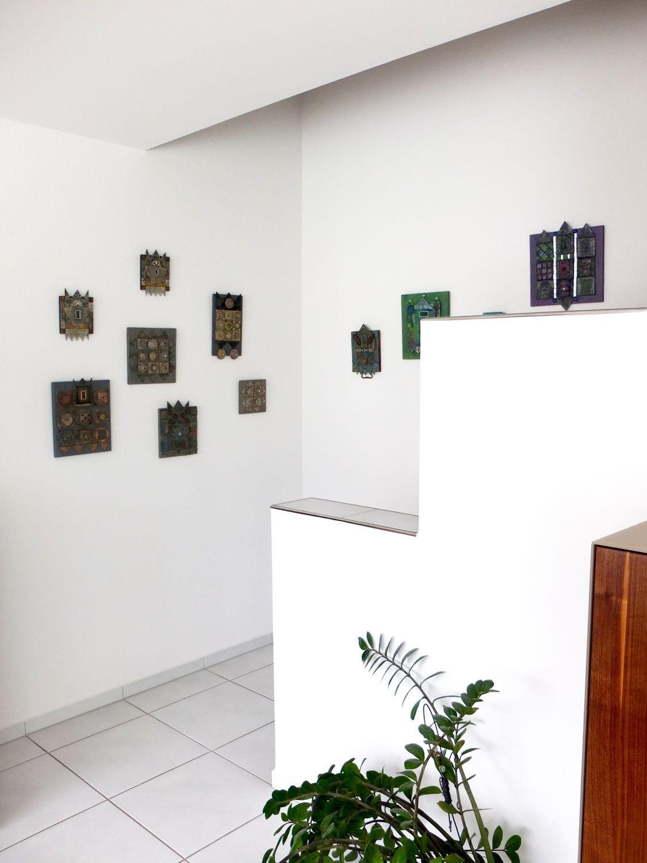 mosaik kunsthandwerk bilder an der wand. Black Bedroom Furniture Sets. Home Design Ideas