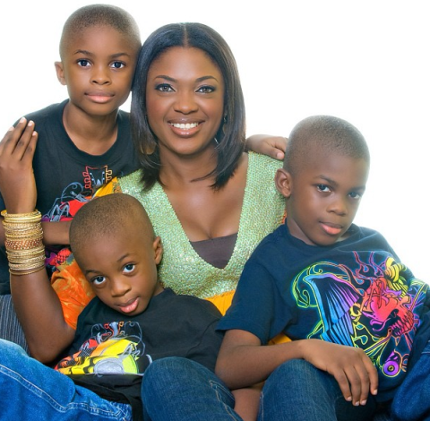 omoni oboli sons childhood photos