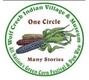 indián kukorica fesztivált hirdető plakát