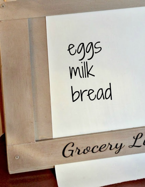 Custom Made Grocery List
