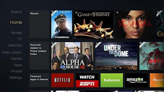 Fire TV Home Screen