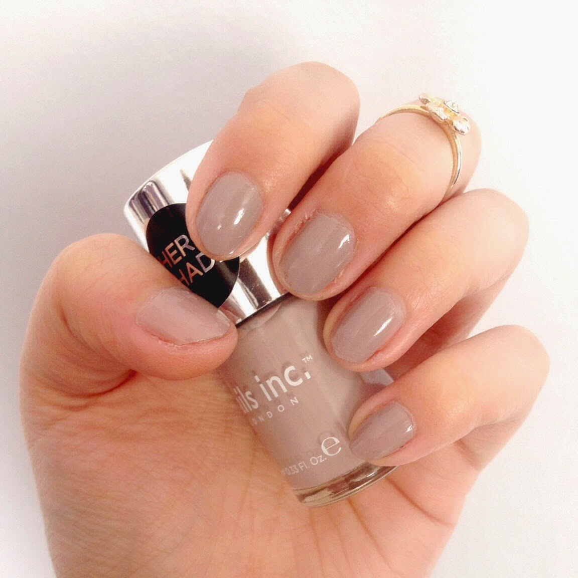 Inspire Magazine Online - UK Fashion, Beauty & Lifestyle blog - Nails Of The Day // Nails Inc. 'Hero Shade'; Inspire Magazine Online; Nails Of The Week; NOTW; Hero Shade; Nails Inc.