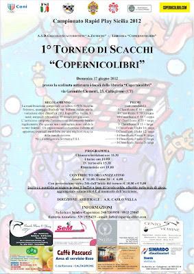Torneo di scacchi circuito rapid play Sicilia