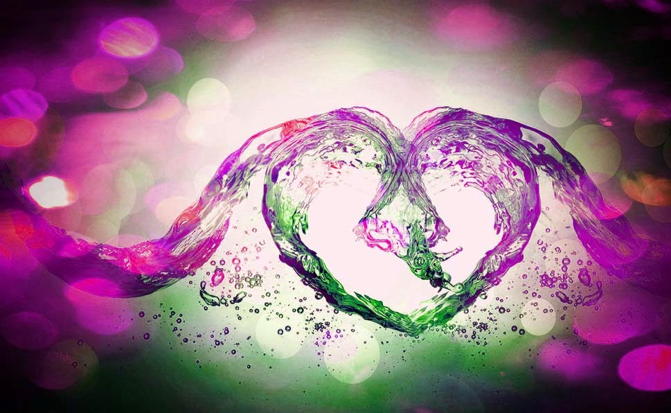 love-heart-colourful-water-abstract-pink-color