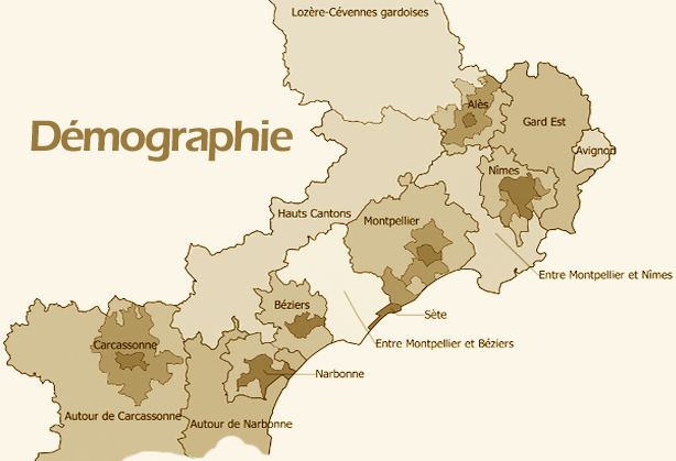 Démographie Languedoc