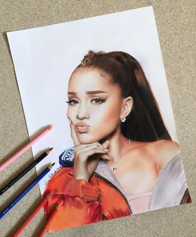 05-Ariana-Grande-Luca-Orlando-Celebrity-Drawn-with-Colored-Pencils-www-designstack-co