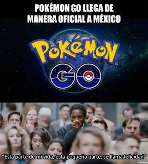 Pokémon go por fin en México de manera legal y oficial