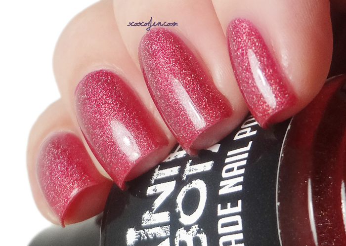 xoxoJen's swatch of Painted Sabotage Poisonberry