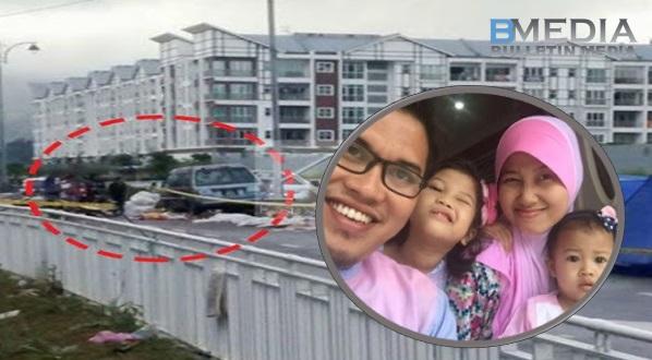 Maafkan mama sayang .. Percutian berdarah anak 3 tahun maut di rempuh van di Pasar Malam (4Gambar)