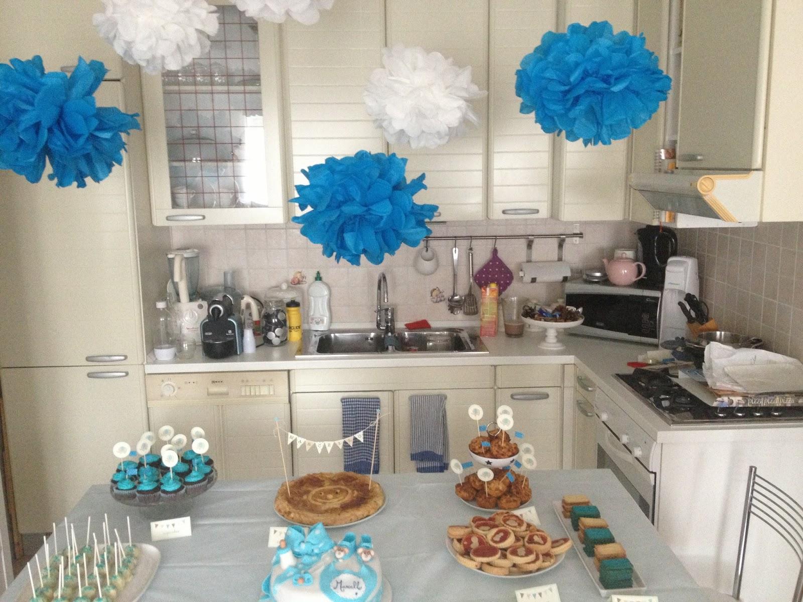 Eccezionale Why not wedding: Baby shower azzuro per Marcello DV63