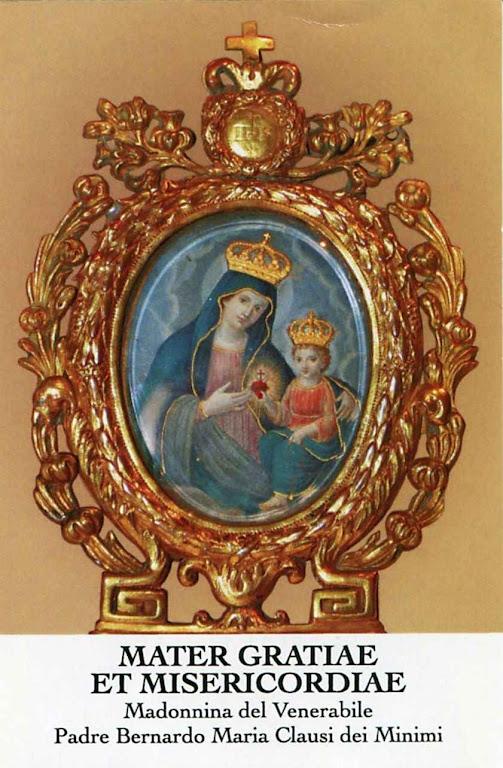 O Venerável Pe Clausi, levava sempre consigo esta imagem a cuja intercessão foram atribuídas muitas graças.