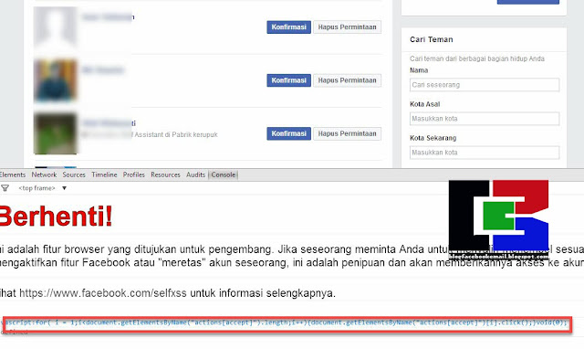 Mungkin salah satu sobat pernah mengalami sebuah insiden di facebook dengan banyaknya te Cara Konfirmasi Ribuan Permintaan Pertemanan di Facebook Dlm Beberapa Detik saja