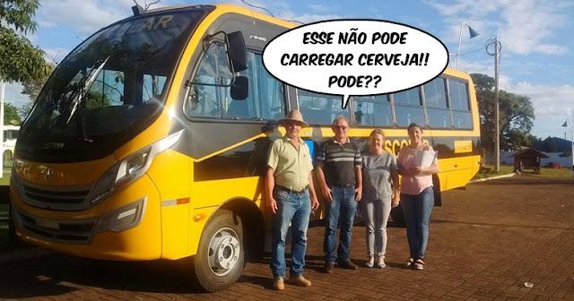 Roncador recebe ônibus novo!
