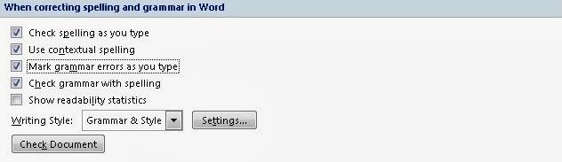 mengaktifkan kamus ms office word