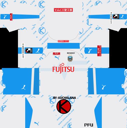 5efe11bd1ad Kawasaki Frontale 川崎フロンターレ kits 2019 - Dream League Soccer Kits