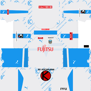 Kawasaki Frontale 川崎フロンターレ kits 2019 - Dream League Soccer Kits