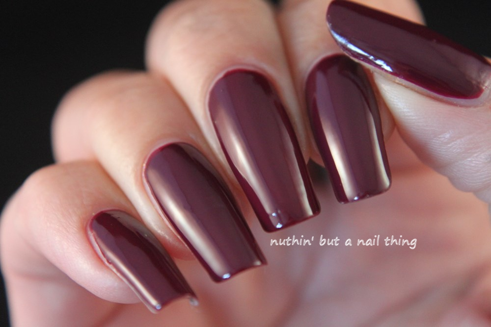Kiko Poker Nail Lacquer - Intuition Wine