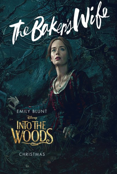 Poster 3: Into the Woods