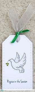 Dove Tag - photo by Deborah Frings - Deborah's Gems