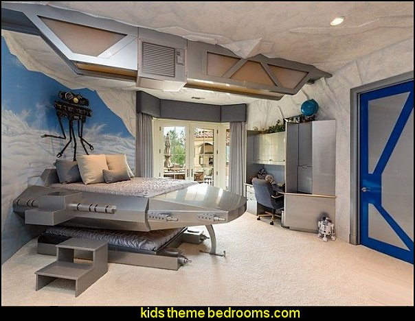 Star Wars bedrooms  Star Wars Bedrooms - Star Wars Furniture - Star Wars wall murals - Star Wars wall decals - Star Wars bed - space ships theme beds - Star Wars Bedroom - Star Wars Decor - Sci Fi theme bedrooms - alien theme bedrooms - Stormtrooper Star Wars Theme Beds - Star Wars bedroom decor