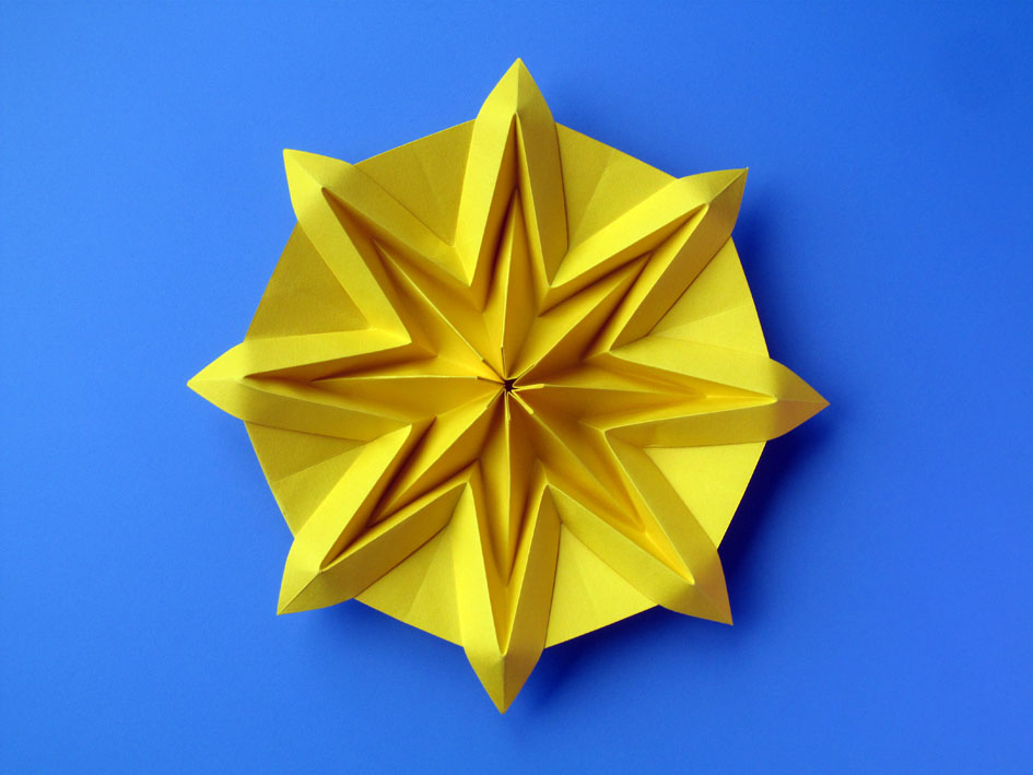 Origami Poesie Di Carta Sole Sun