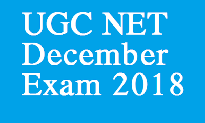 UGC NET December Exam 2018