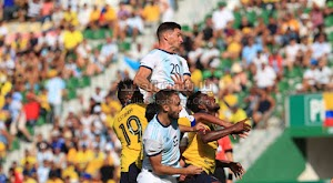 بسداسية الارجنتين تحقق فوز كاسح علي منتخب الاكوادور في المباراة الودية