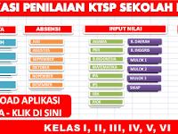Aplikasi Penilaian KTSP Sekolah Dasar Kelas 1 - 6