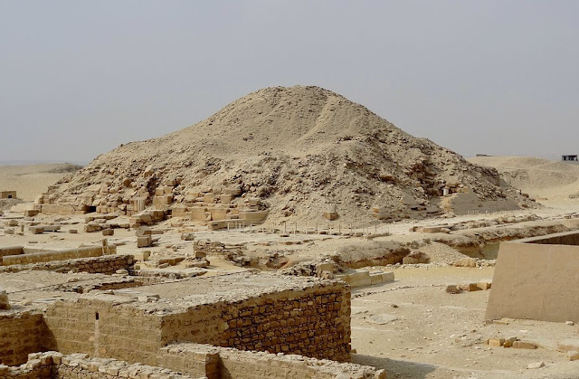 4,300 year old Unas pyramid opens to public after two decade long renovation