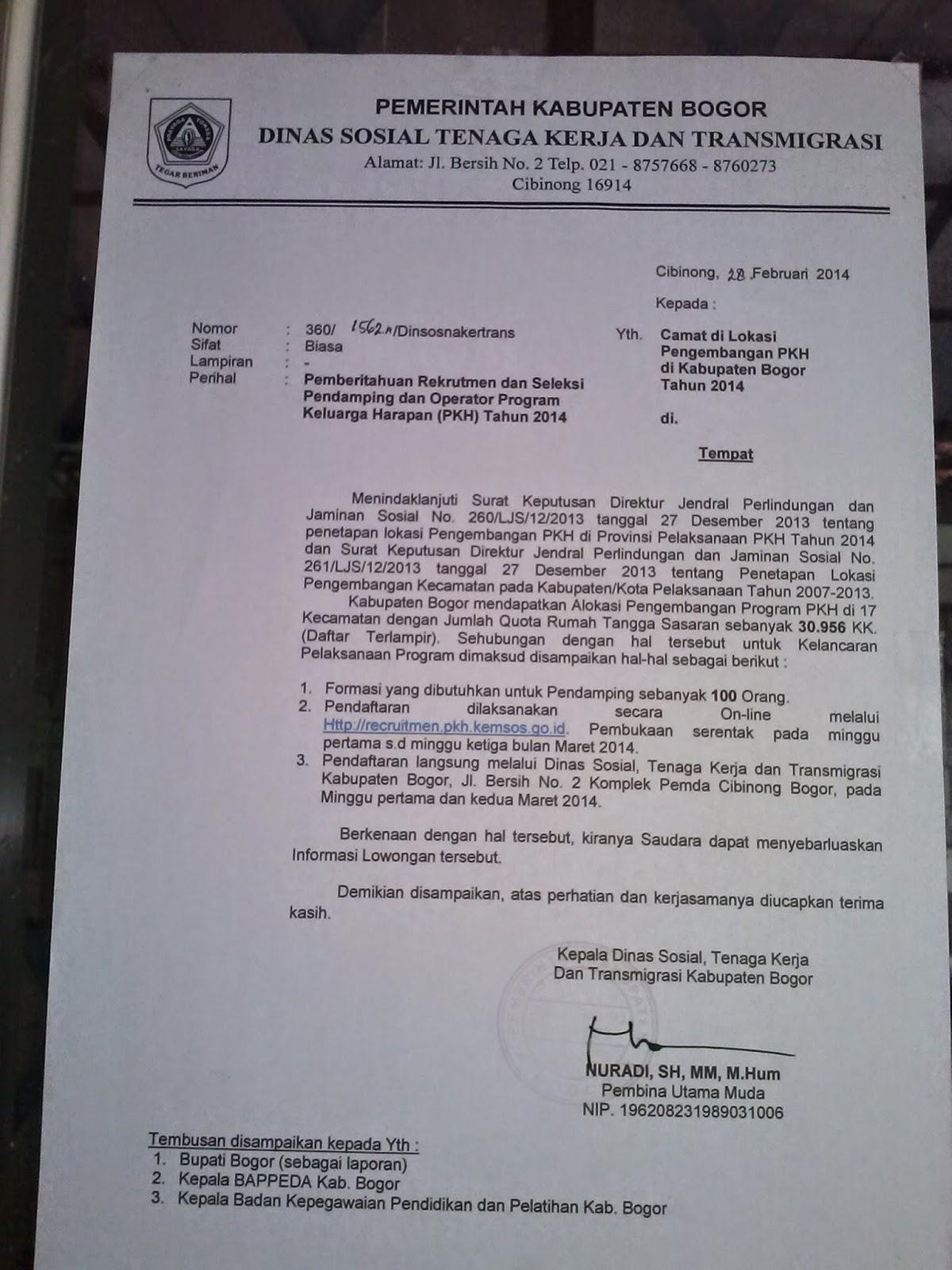 Contoh Surat Lamaran Kerja Yang Lowongan Kerja Kediri 3192959