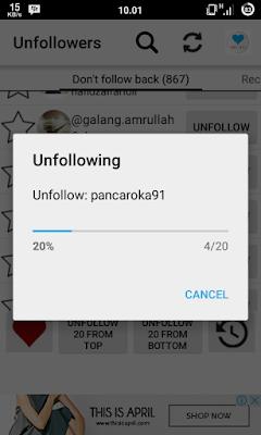 cara melakukan unfollow masal di instagram dengan cepat dan mudah