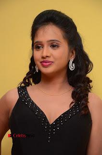 Actress Nakshatra Pictures in Black Long Dress at Miss South India 2016 Press Meet  0006.jpg