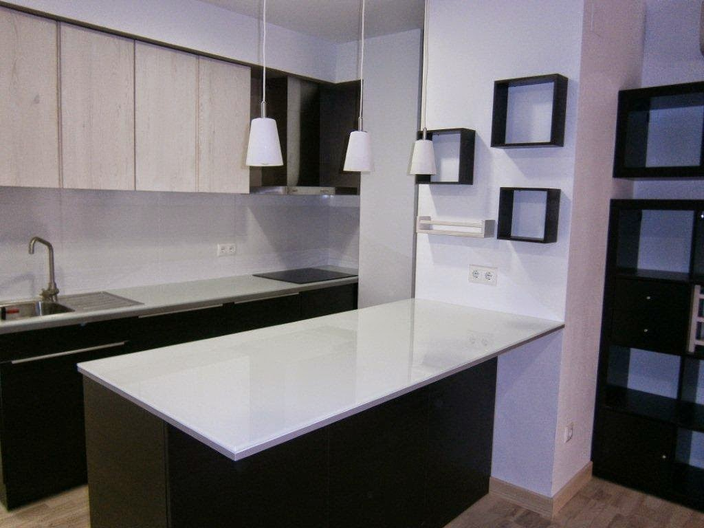 Glass Top Kitchen Peninsula Ikea Hackers
