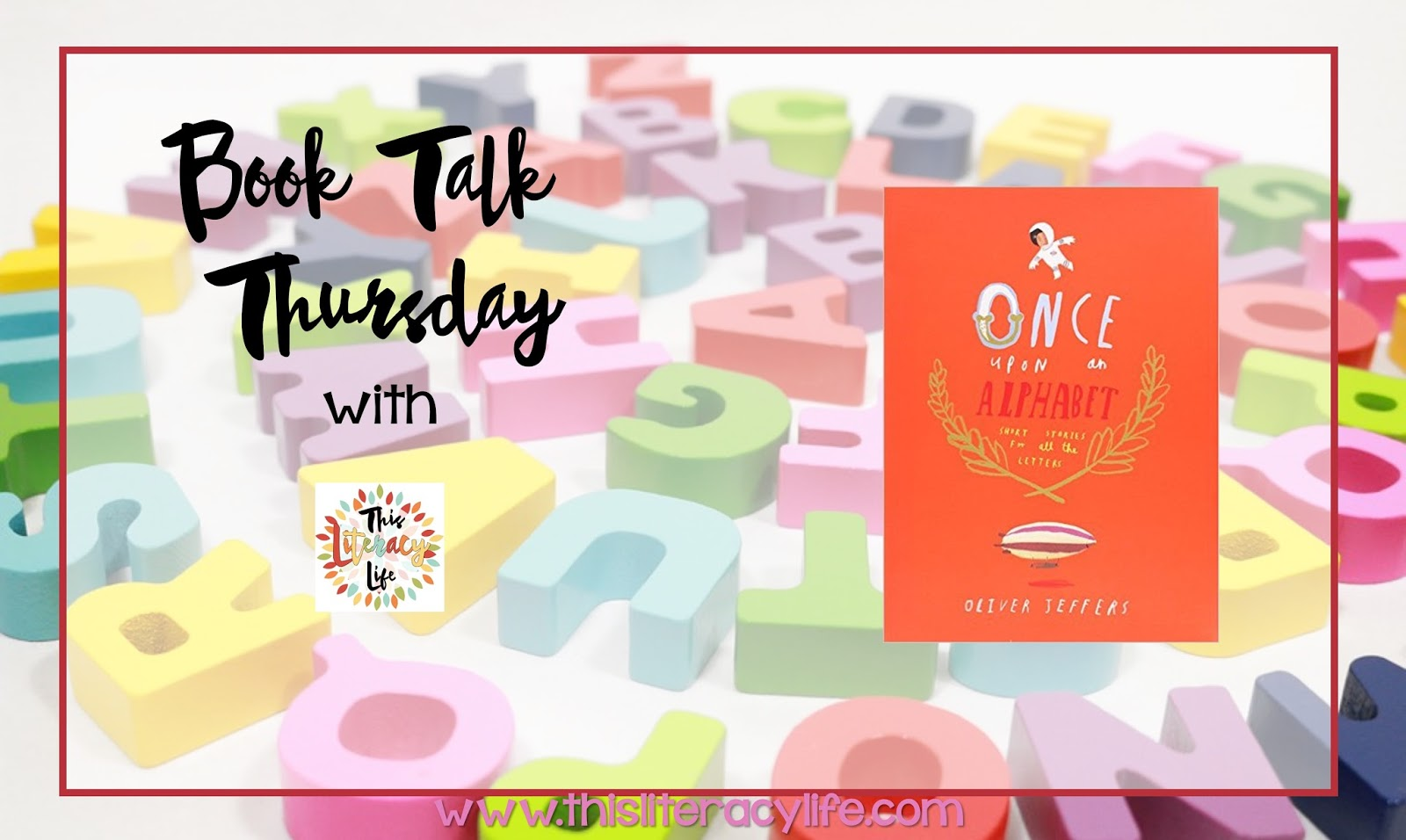 Once Upon an Alphabet is a perfect book for helping students read, connect, and write their own shorts stories using the letters of the alphabet.