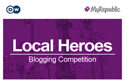 MyRepublic Blog competition LocalHeroes - izor Note's
