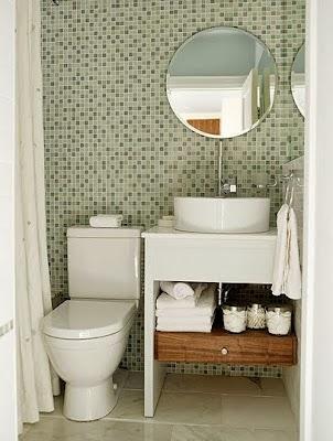 Cuarto de baño pequeño