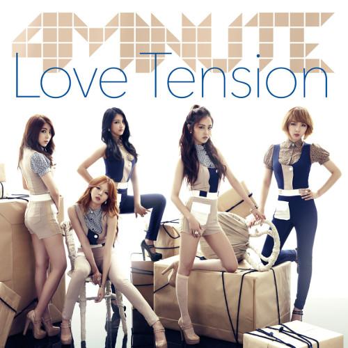 4minute - Love Tension [FLAC   MP3 320 / CD]