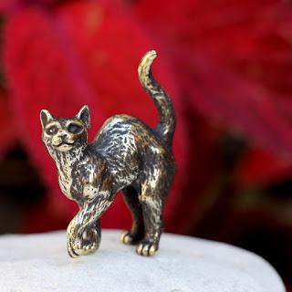 купить подарок на бронзовую свадьбу интернет магазин статуэтка кошка