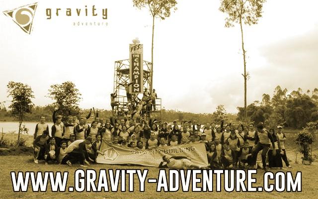 rafting situ cileunca pangalengan gravity adventure