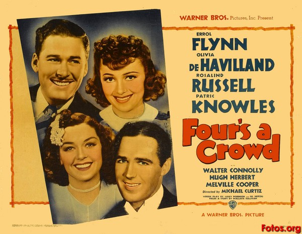 Four's a Crowd (1938)