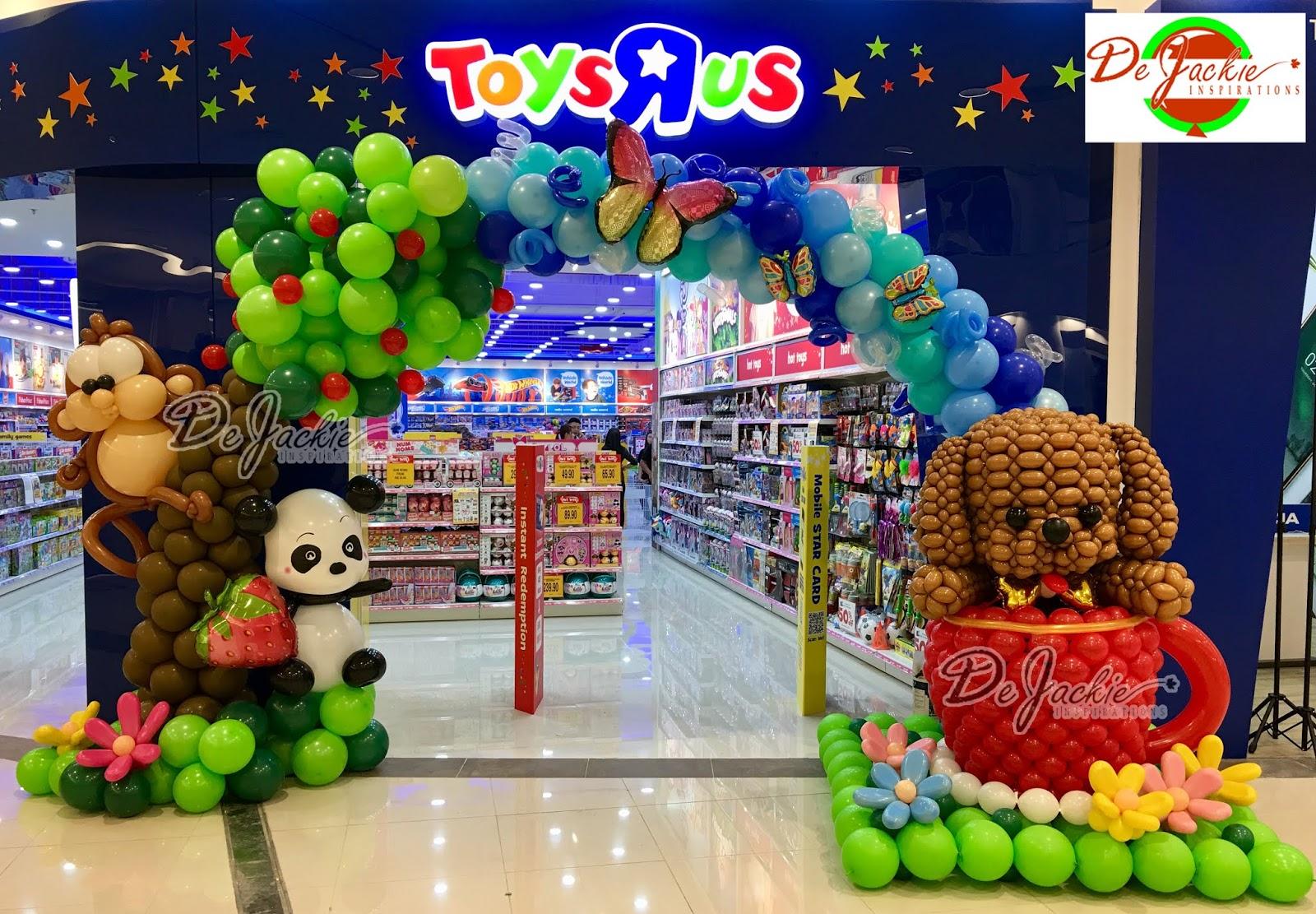 toys r us opening decoration at aeon mall kuching