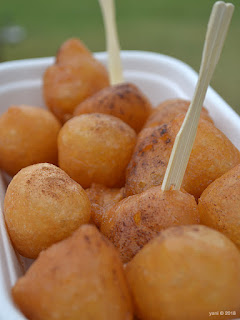 fork on the road: honey puffs