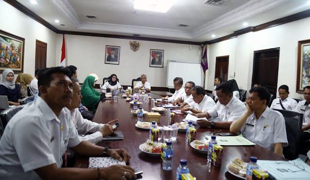 Diskusi pemaparan RTRW Lumajang 2012-2032 bersama ITS