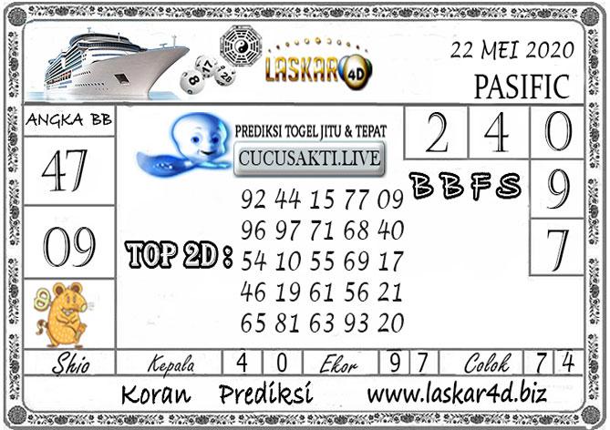 Prediksi Togel PASIFIC LASKAR4D 22 MEI 2020