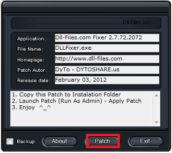 dll fixer free download for windows 7