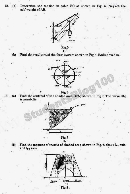 GE6253 ANNA UNIVERSITY EM ENGINEERING MECHANICS MAY/JUNE